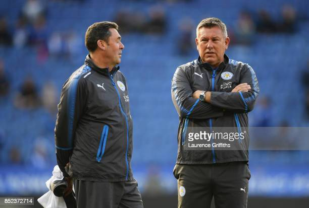 Craig Shakespeare manager of Leicester City looks on during the Premier League match between Leicester City and Liverpool at The King Power Stadium...