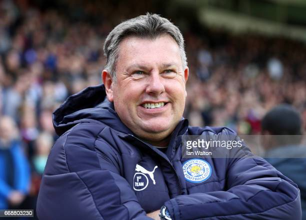 Craig Shakespeare manager of Leicester City looks on prior to the Premier League match between Crystal Palace and Leicester City at Selhurst Park on...