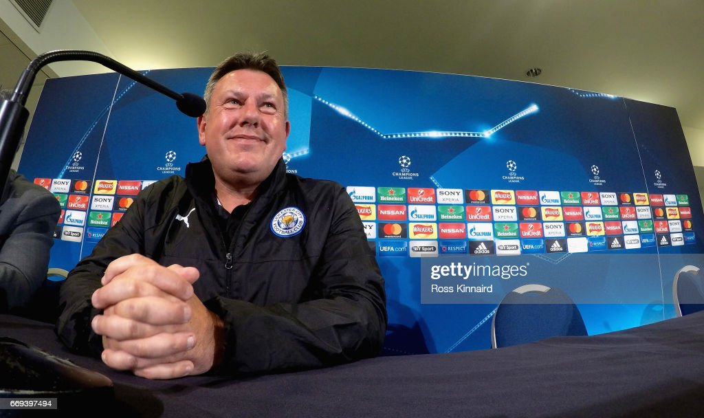 Leicester City - Training & Press Conference