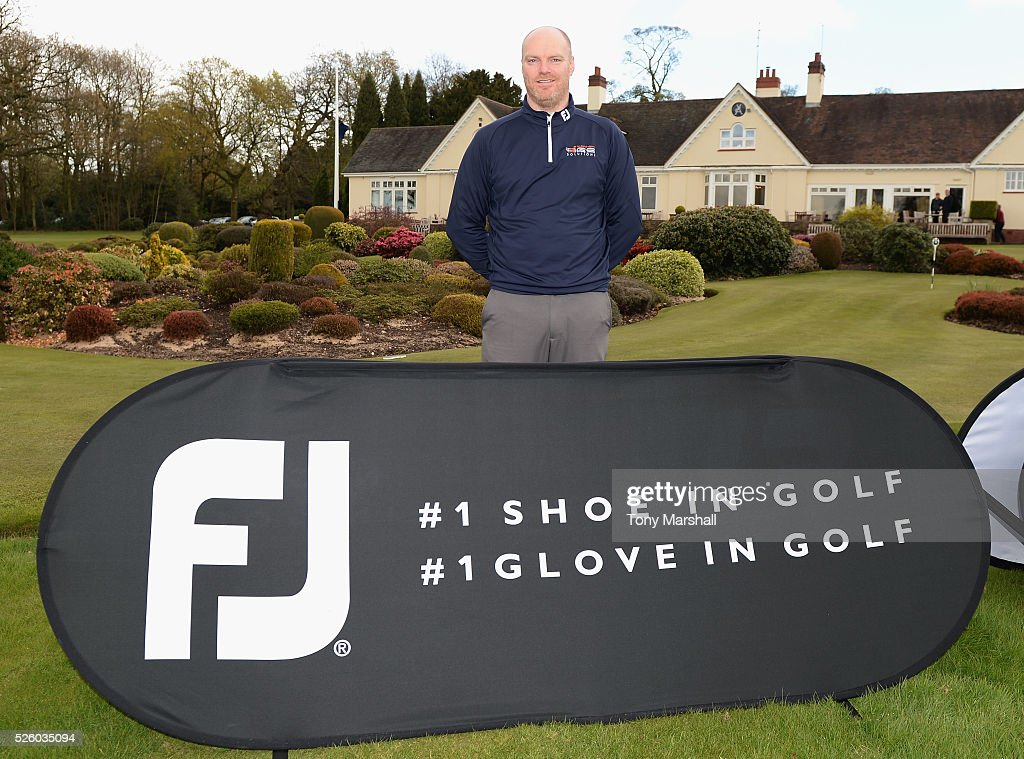 Craig Shave of Whetstone Golf Club winner of the PGA Professional Championship - Midland Qualifier at Little Aston Golf Club on April 29, 2016 in Sutton Coldfield, England.