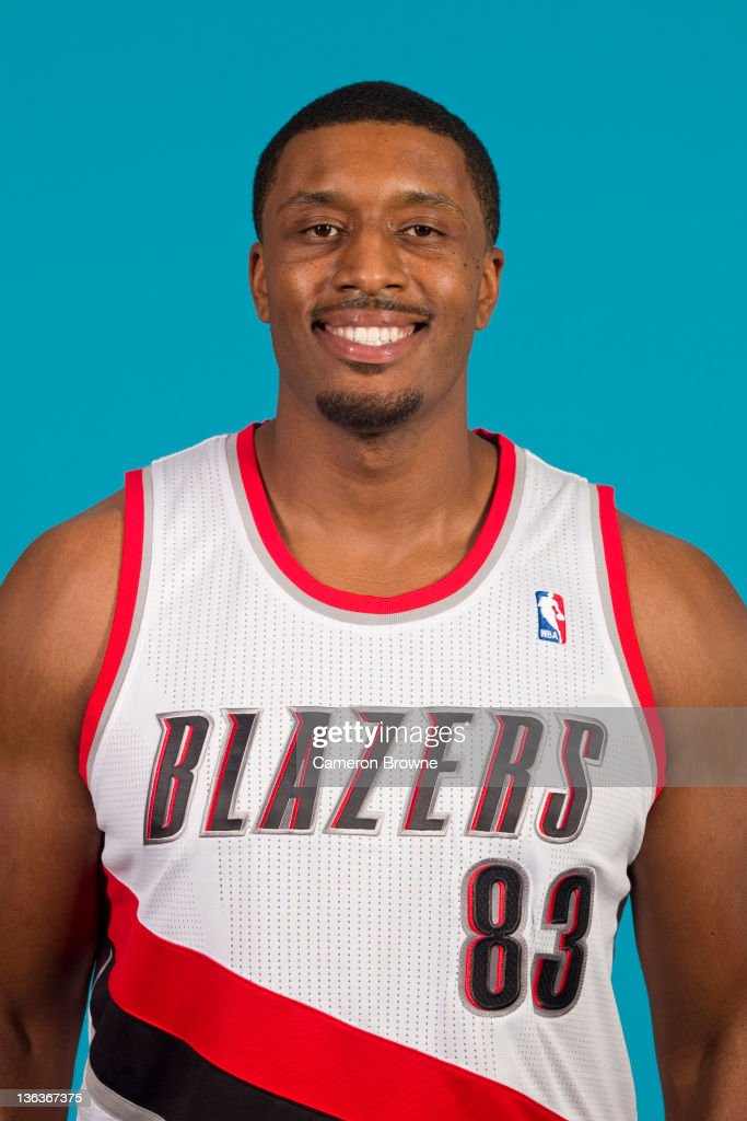 Craig Smith #83 of the Portland Trail Blazers poses for a portrait during Media Day on December 16, 2011 at the Rose Garden Arena in Portland, Oregon.