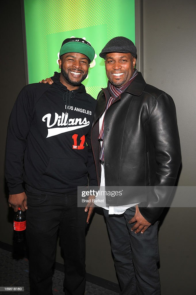 Craig Wayans, and Chris Spencer attend BET Networks New York Premiere Of 'Real Husbands of Hollywood' And 'Second Generation Wayans' at SVA Theater on January 14, 2013 in New York City.