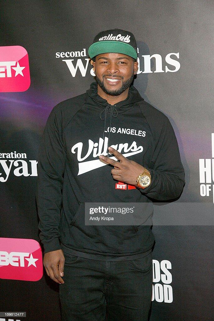 Craig Wayans attends the 'Real Husbands Of Hollywood' & 'Second Generation Wayans' screening at SVA Theatre on January 14, 2013 in New York City.