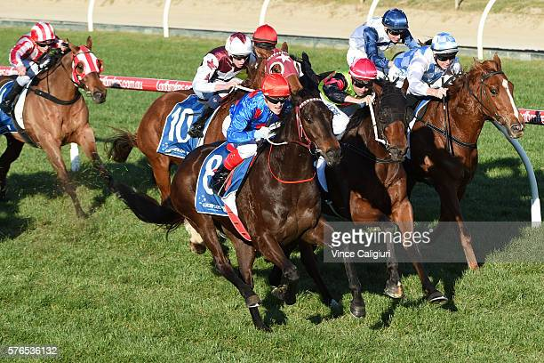 Craig Williams riding Ulmann wins Race 7 during Melbourne Racing at Caulfield Racecourse on July 16 2016 in Melbourne Australia