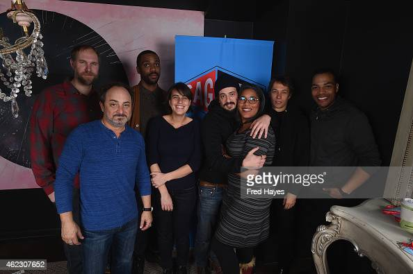 Craig Zobel Shaka King Kevin Pollak Kris Swanberg Josh Mond Darrien Gipson Sean S Baker and Reinaldo Marcus attend the SAG Indie Filmmaker Brunch...