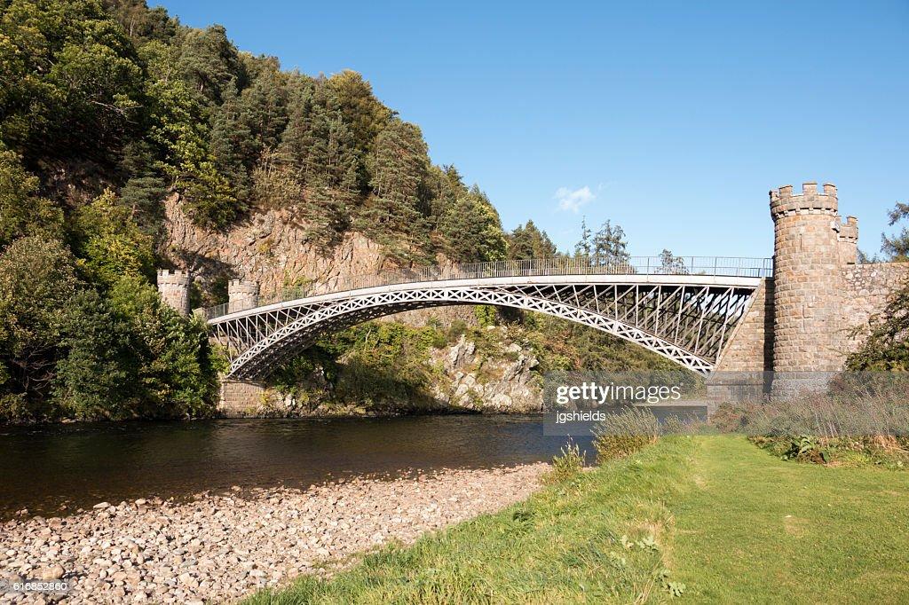 Craigellachie Bridge : Stock Photo