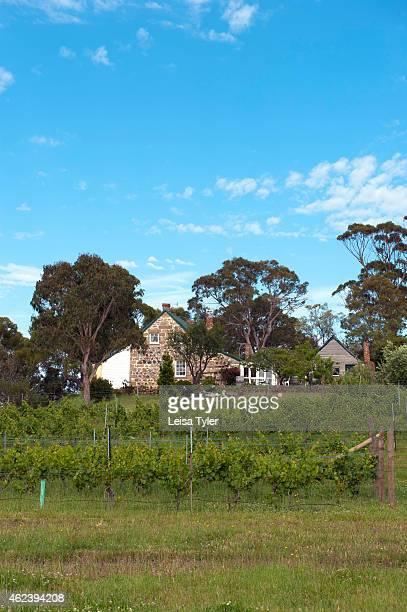 SWANSEA TASMANIA AUSTRALIA Craigie Knowe a 1842built stone farm house and vineyard converted into luxury villa accommodation in Swansea Tasmania...