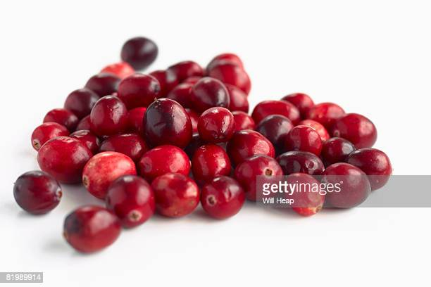 Cranberries, close up