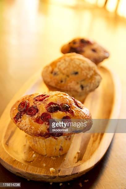 Cranberry and Blueberry Muffins
