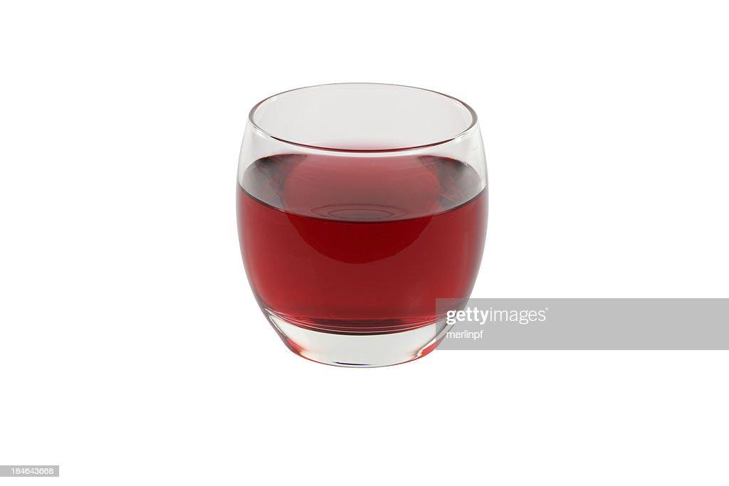 Cranberry Juice Isolated
