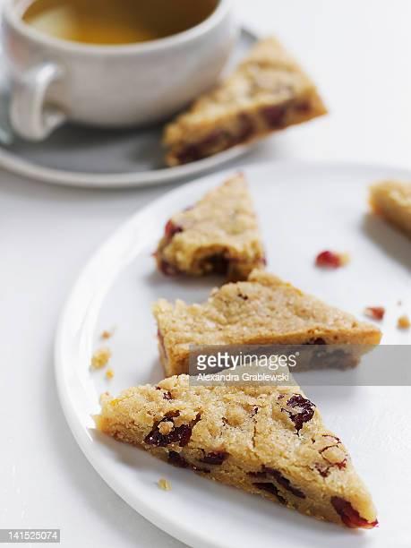 Cranberry Orange Snack Cake