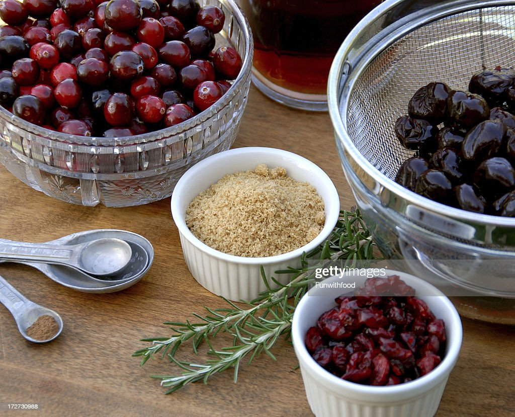 Cranberry Sauce Cooking Ingredients & Spices, Christmas & Thanksgiving, Holiday Food