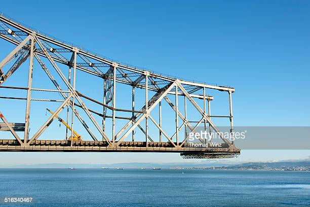 Crane on a Bridge