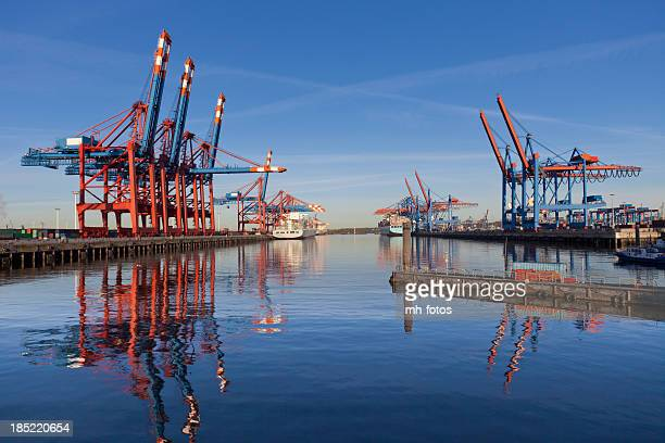 Cranes and Container