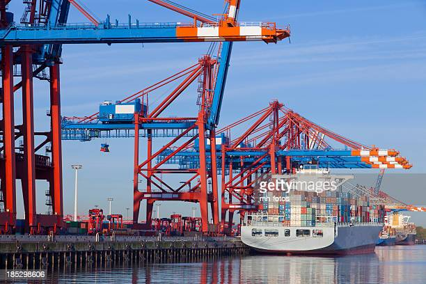 Cranes und Container