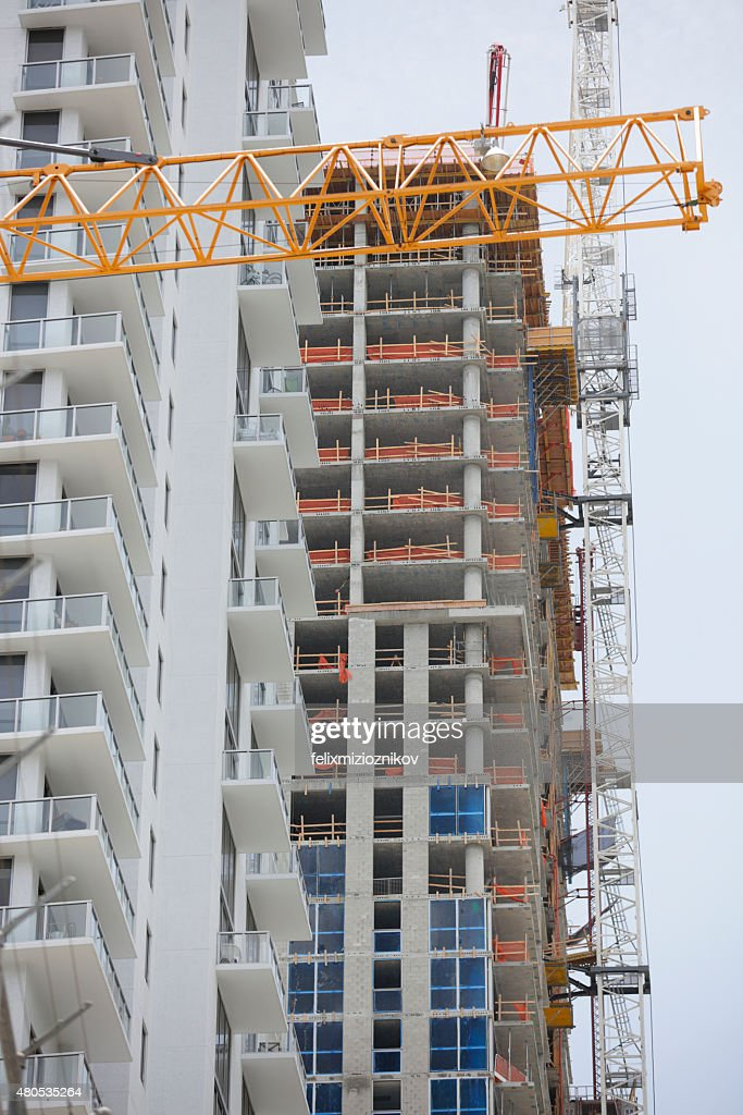 Cranes over Brickell : Stockfoto