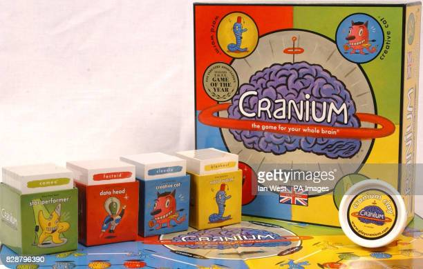 Cranium one of the top 10 toys children are expected to want for Christmas on show at Dream Toys 2003 Teenage Mutant Ninja Turtles one of the...