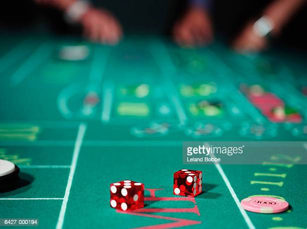 Craps table picture