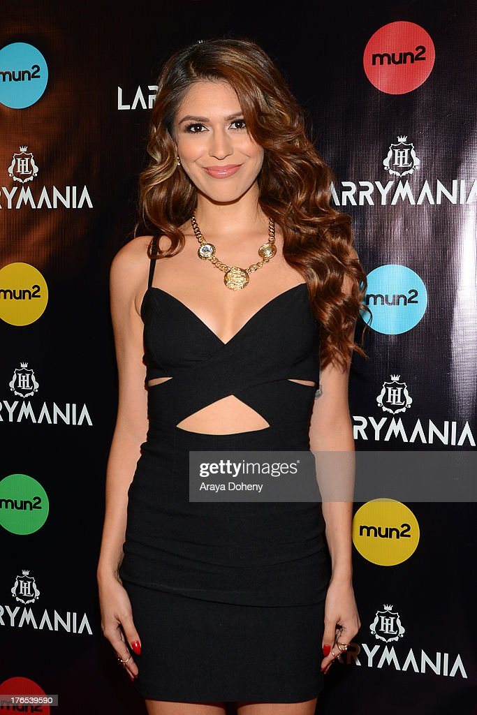 Crash Barrera attends 'Larrymania' Season 2 Premiere Launch Party at SupperClub Los Angeles on August 14, 2013 in Los Angeles, California.