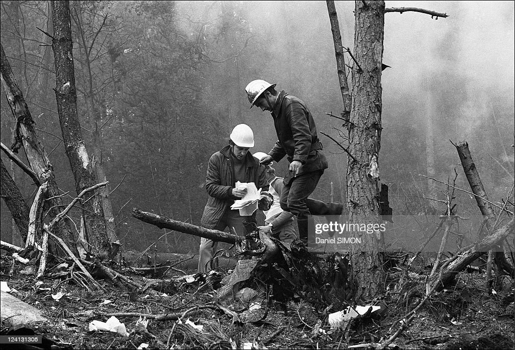 Crash of a DC 10 into a forest at Ermenonville, France On March 03, 1974 - Among the victims were 200 passengers, many of them British, who had been transferred from British Airways flights cancelled because of a strike by engineers at London airport - No-one was killed on the ground, although the forest is popular with walkers - Only blackened stumSocialist Party of trees remained where the pilot had probably attempted a crash landing - Bits of clothing and other wreckage from the plane were strewn across the whole area.