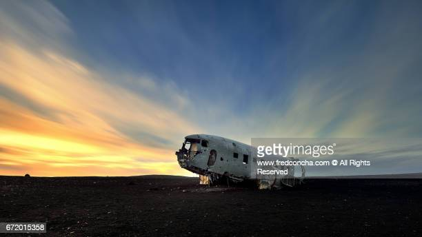 DC-3 crashed in iceland