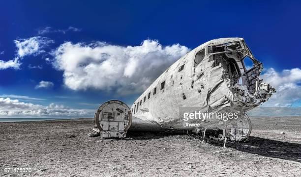 Crashed US Navy Douglas Super DC-3 Plane, Solheimasandur, Iceland