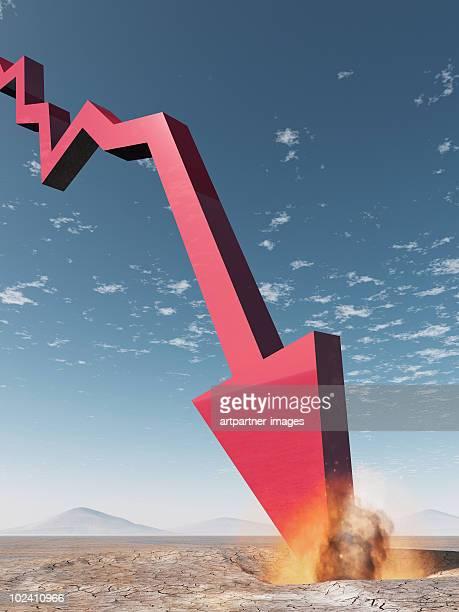 Crashing (Stock-) Chart