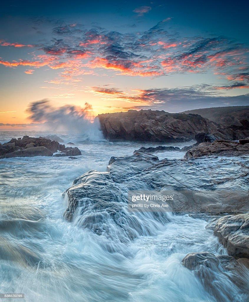 Crashing Surf at Point Lobos - Carmel, CA