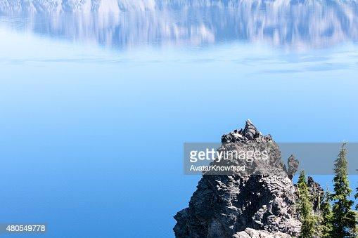Lago Crater : Foto de stock