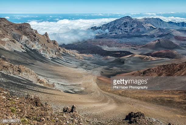 Crater of mount Haleakala