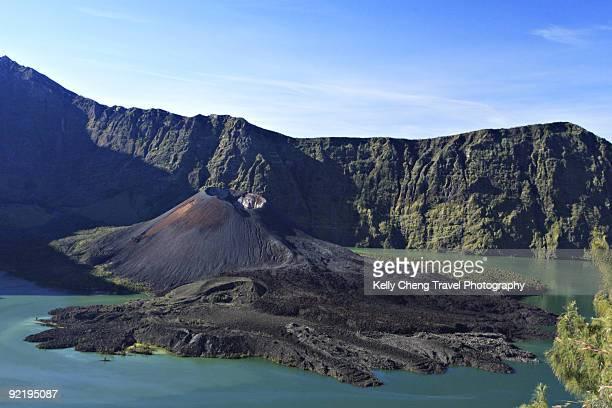 Crater of Mount. Rinjani
