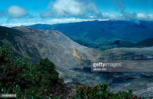 Crater of the Poas Volcano Costa Rica South america Cocos Island South america Latin america