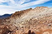 Crater of Mount Teide. Tenerife, Canary Islands, Spain