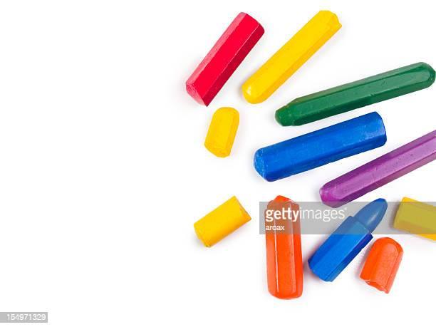 Crayon pastel gratuit à repasser