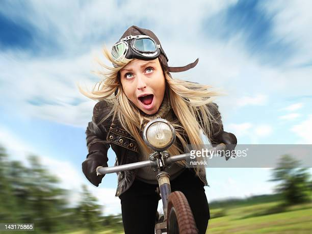 Crazy Radfahrer