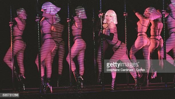 Crazy Horse dancer Aria Crescendo in Las Vegas