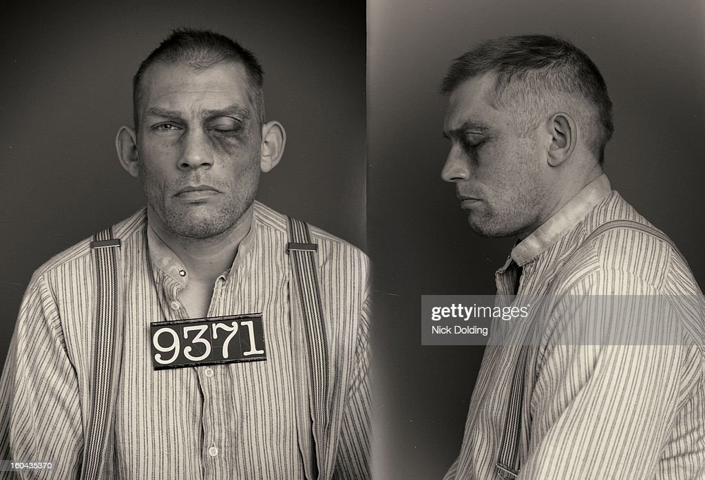 Crazy Jake Wanted Mugshot : Stock Photo