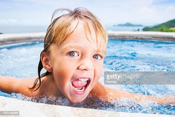 Crazy pool fun