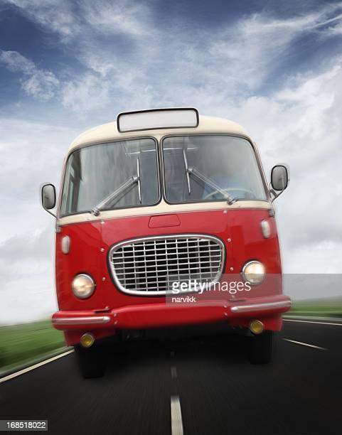 Crazy Vintage Bus aller vite