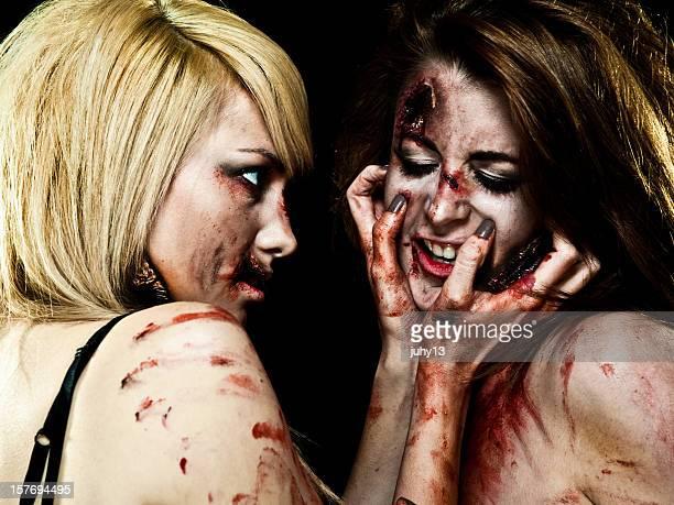 Crazy Zombie filles