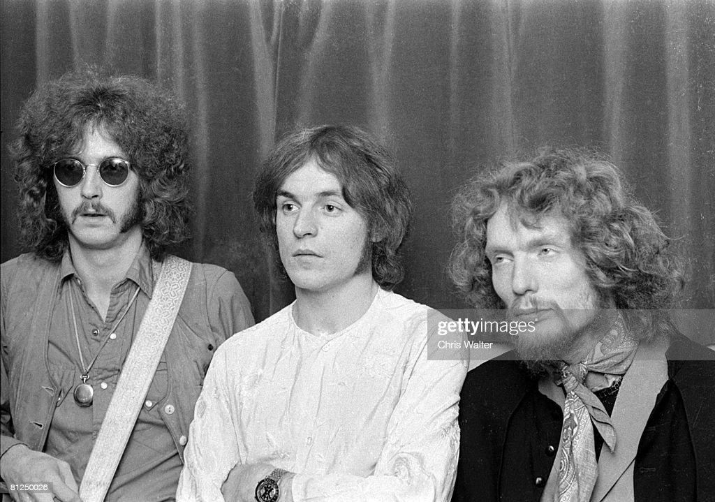 Cream 1967 Eric Clapton Jack Bruce and Ginger Baker