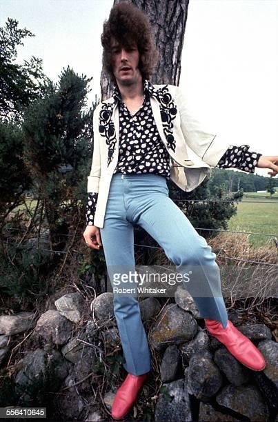 Cream guitarist Eric Clapton 1967