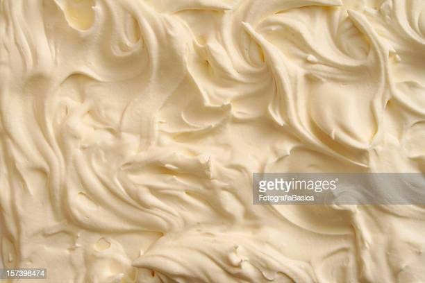 Cream swirls