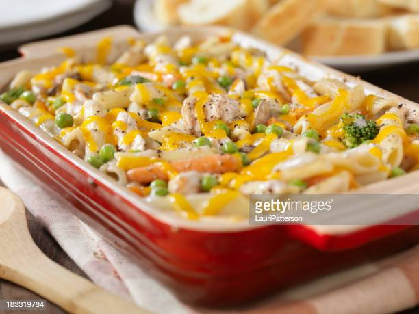 Creamy Baked Chicken and Penne Casserole