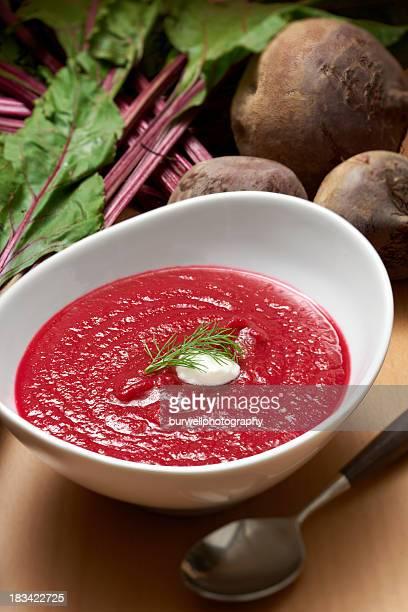 Cremige Rote Bete-Suppe