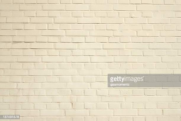 Creamy Brick Wall