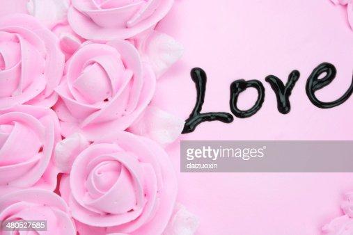 creamy cake : Stock Photo