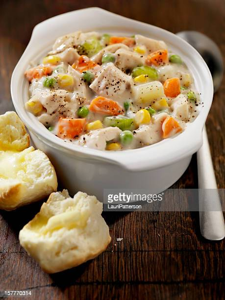 Poulet Soupe crémeuse
