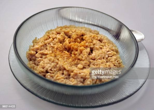 WASHINGTON DC - JANUARY 13: Creamy oatmeal and quinoa. (Photo by
