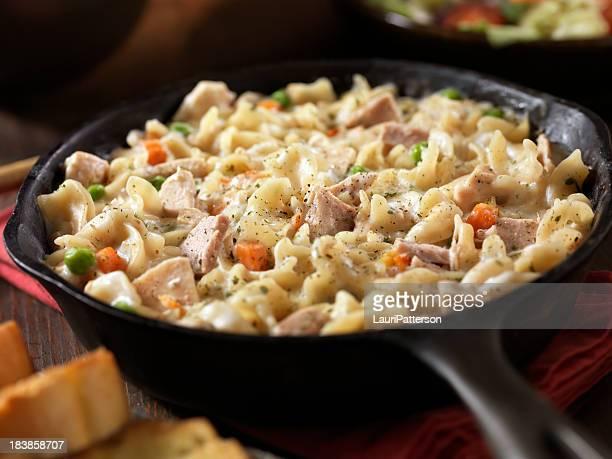 Crema di tonno e Pasta cena